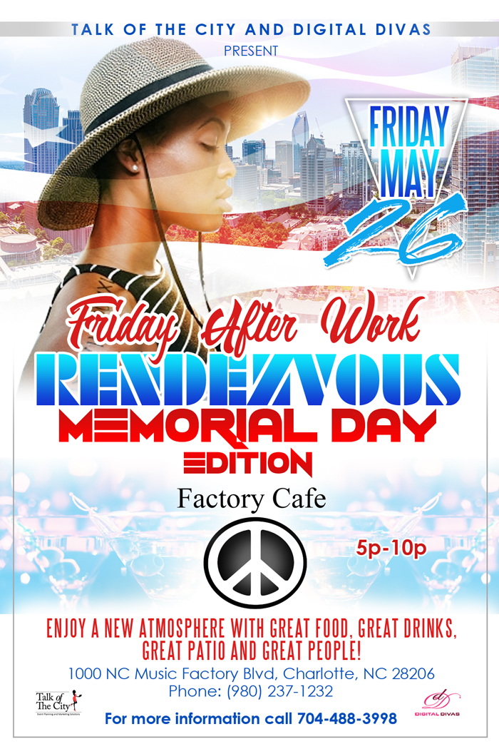 Friday Afterwork Rendezvous