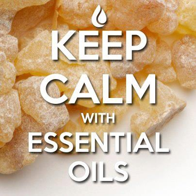 keep calm with essential oils
