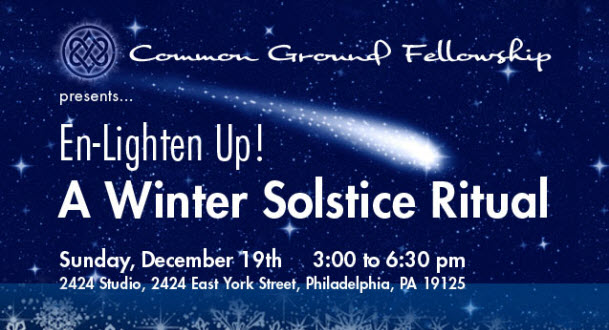 Common Ground Winter Solstice