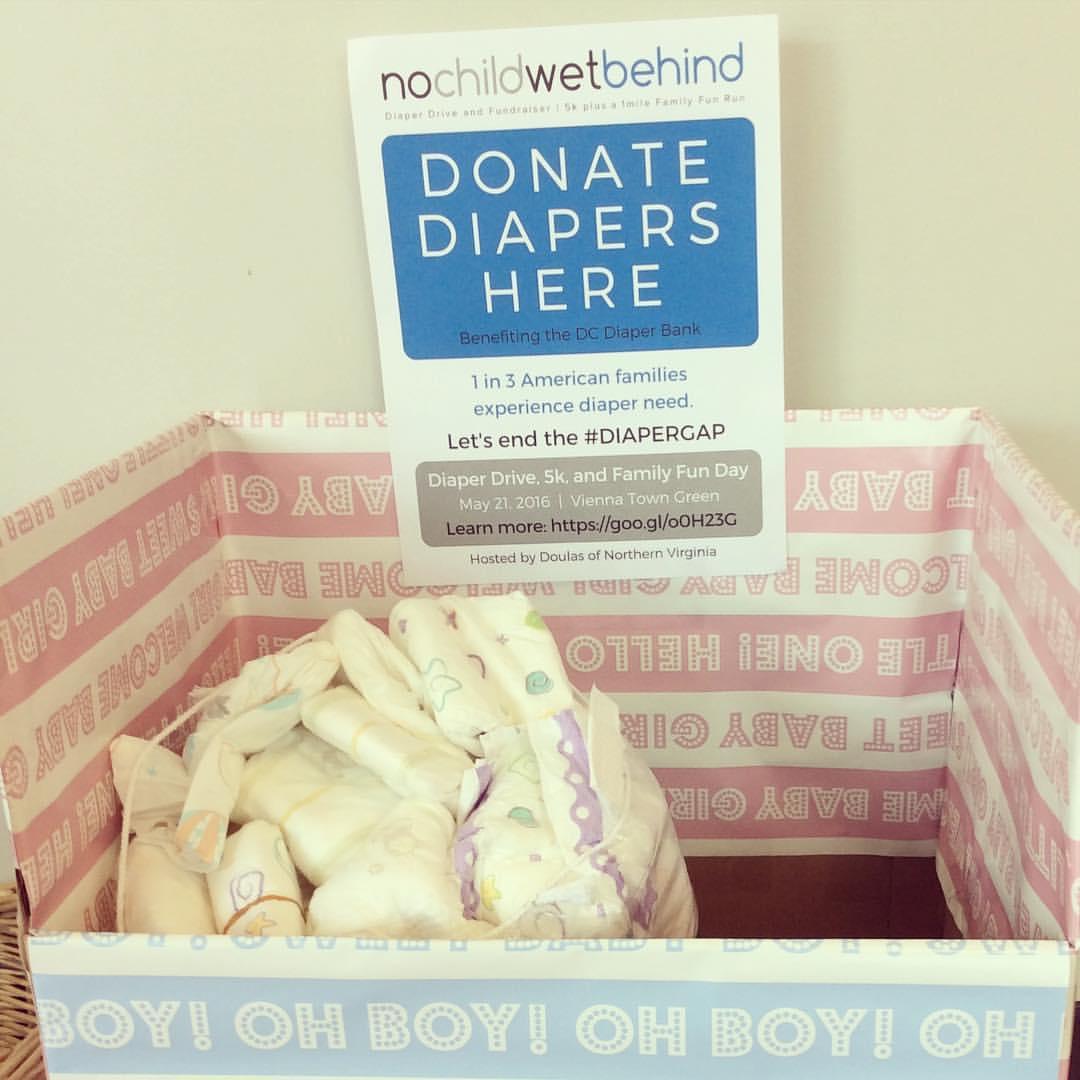 No Child Wet Behind Diaper Drive 2016