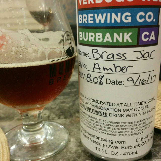 Brass Jar Hoppy Amber Ale