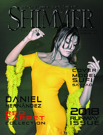 Shimmer Magazine Cover Sufi Sayyad