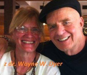 V naročju z dr.Wayne W.Dyer