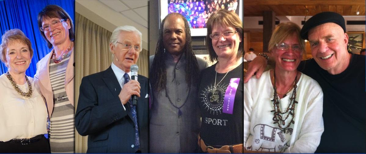 Nekateri od mojih mentorjev; Mary Morrissey,Bob Proctor..