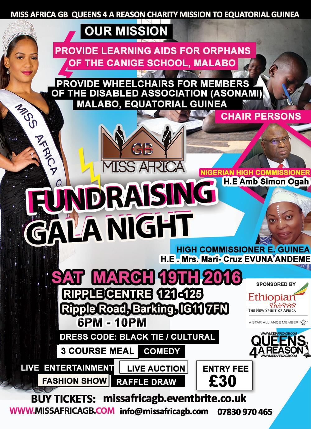Miss Africa GB Fundraiser