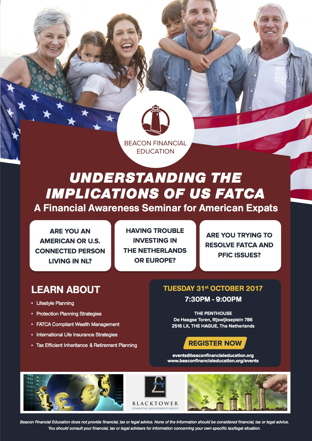 US FATCA seminar The Hague 31 Oct 2017