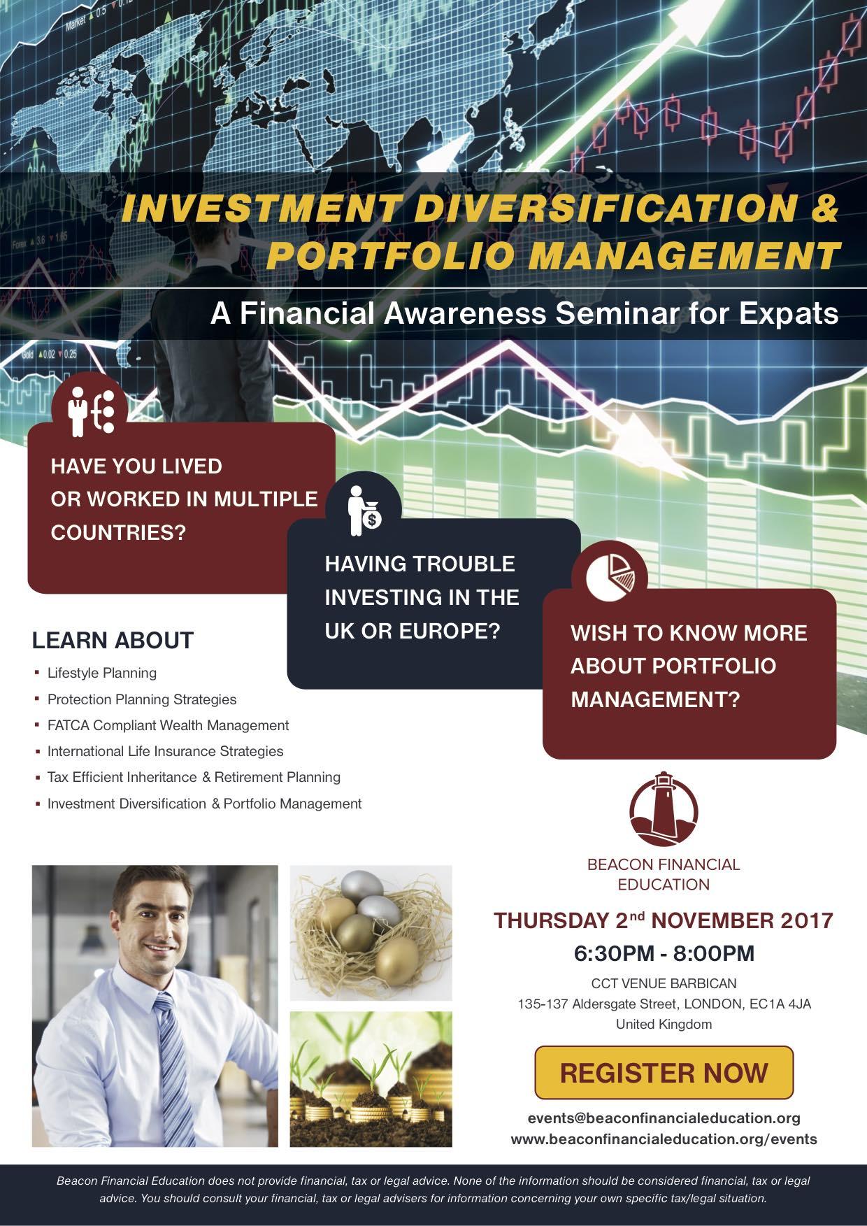 Investment Seminar London 2 Nov 2017