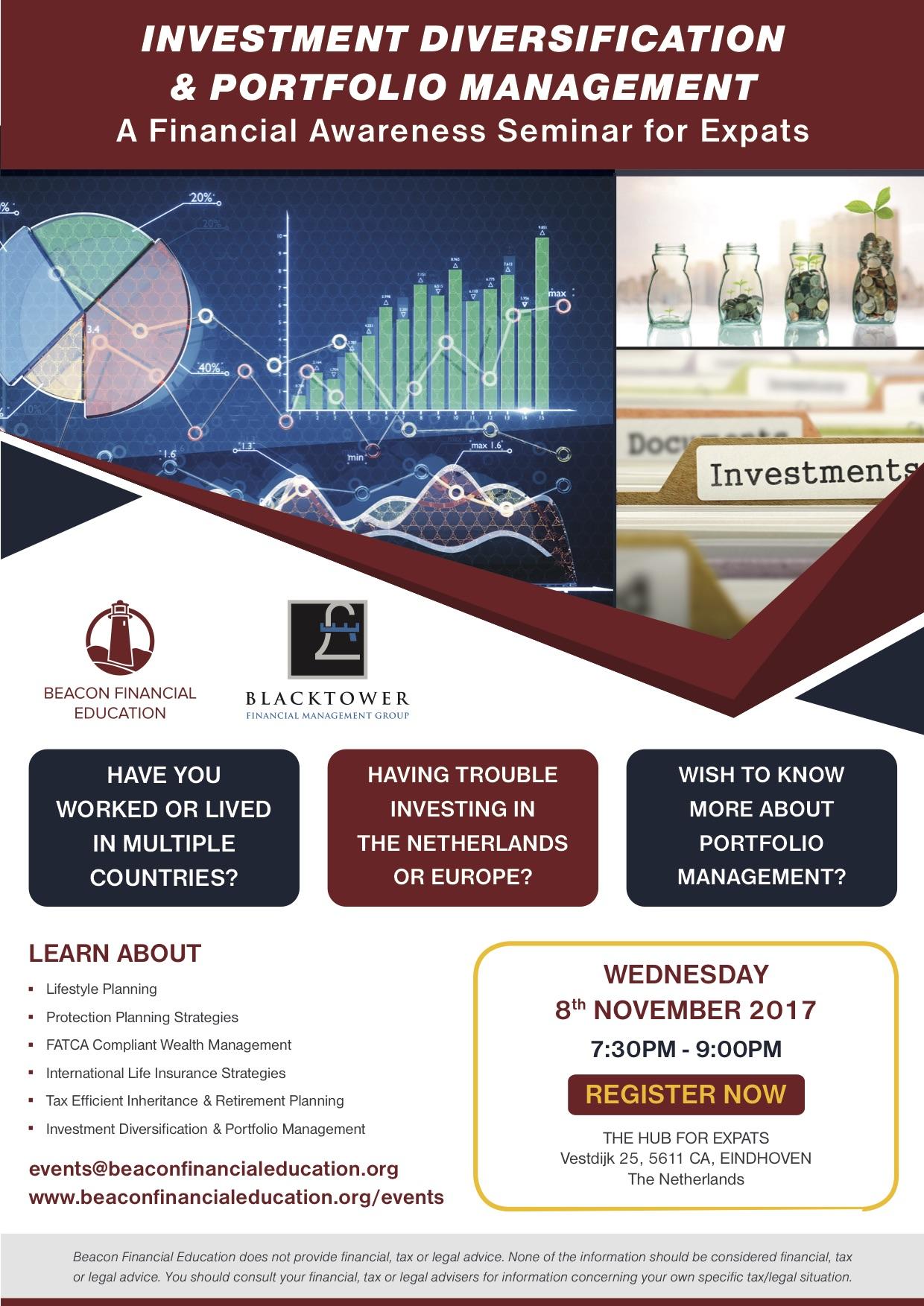 Investment Seminar Eindhoven 8 Nov 2017
