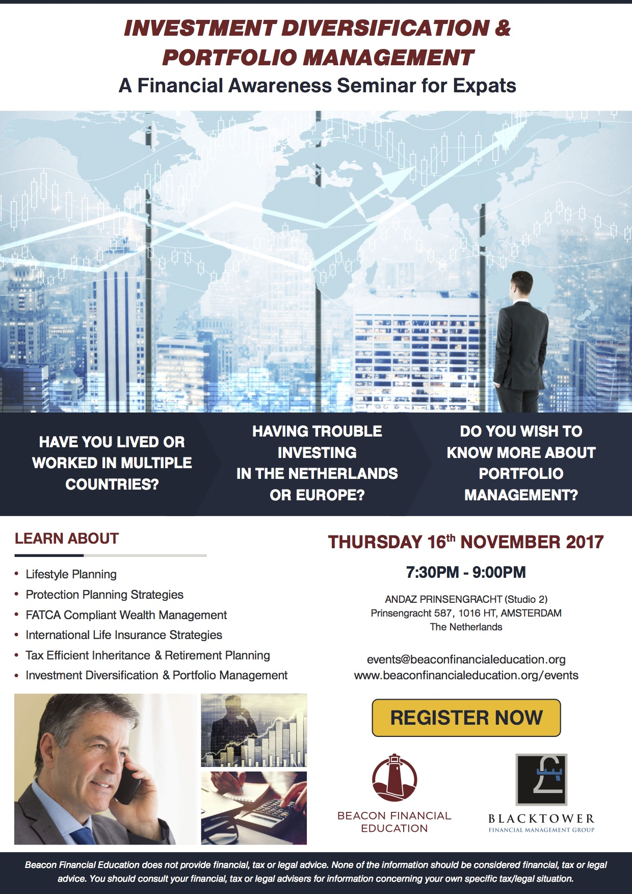 Investment Seminar Amsterdam 16 Nov 2017