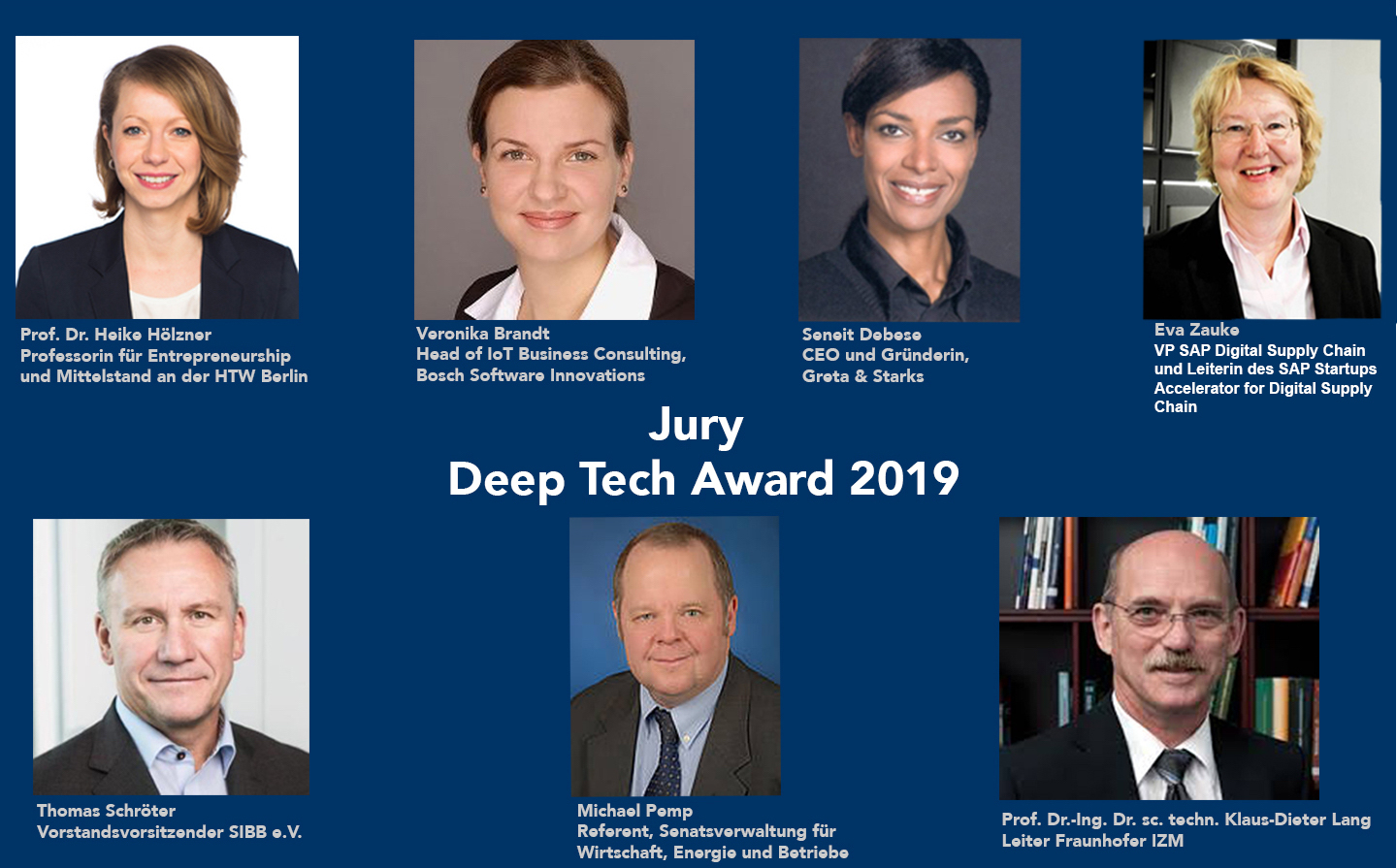Deep Tech Award Berlin Jury