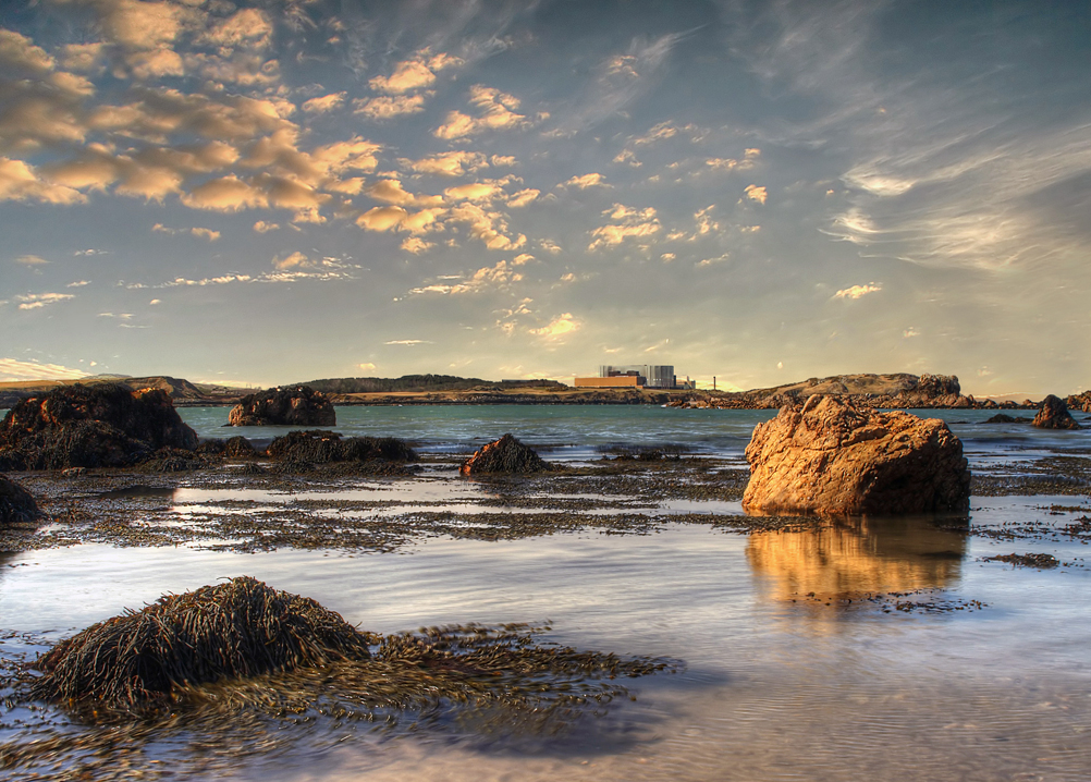 Cemaes Bay, Anglesey by Julia Chapman