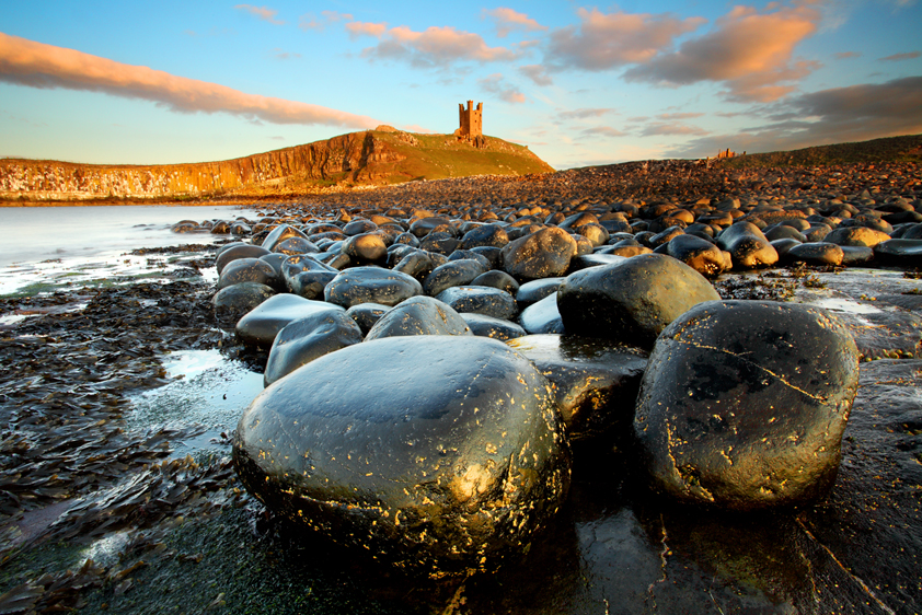 Dunstanburgh Castle, Northumberland by Antony Armstrong-Sly