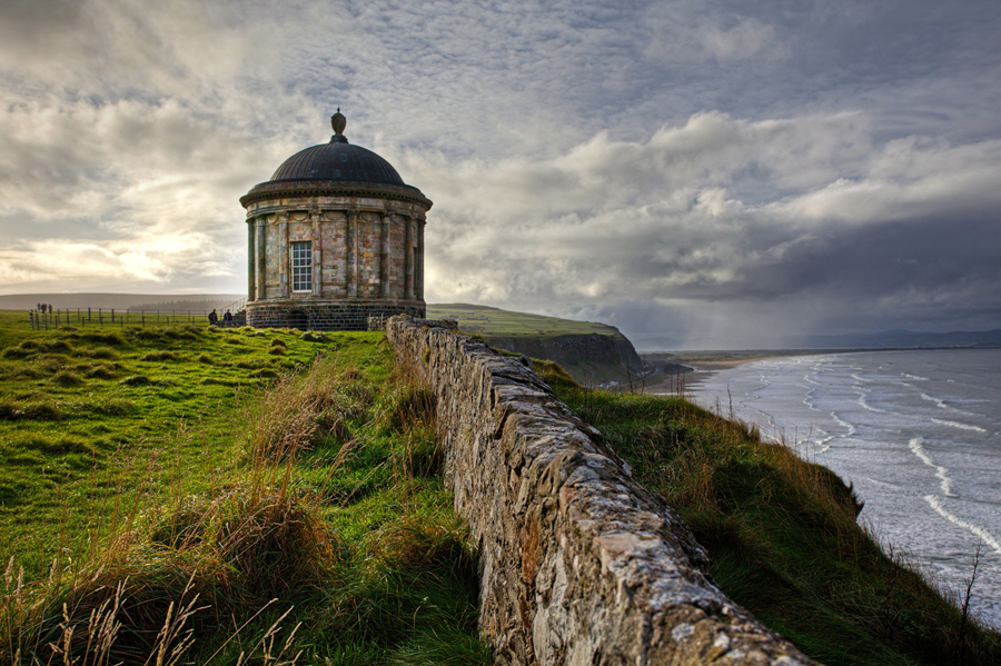Mussenden Temple by Richard Crowe