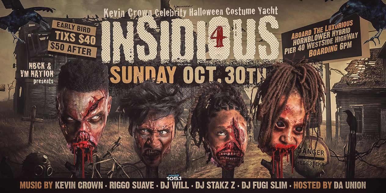 INSIDIOUS 4 HALLOWEEN COSTUME YACHT PARTY Tickets, Sun, Oct 30 ...