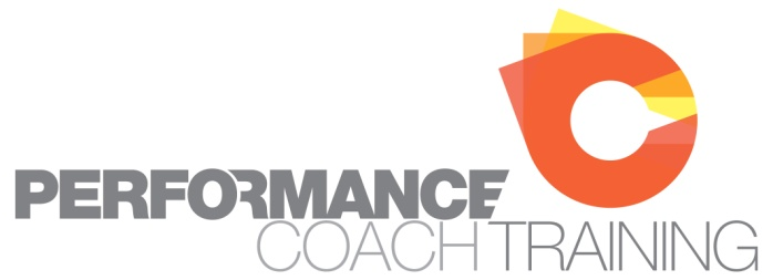 Performance Coach Training logo