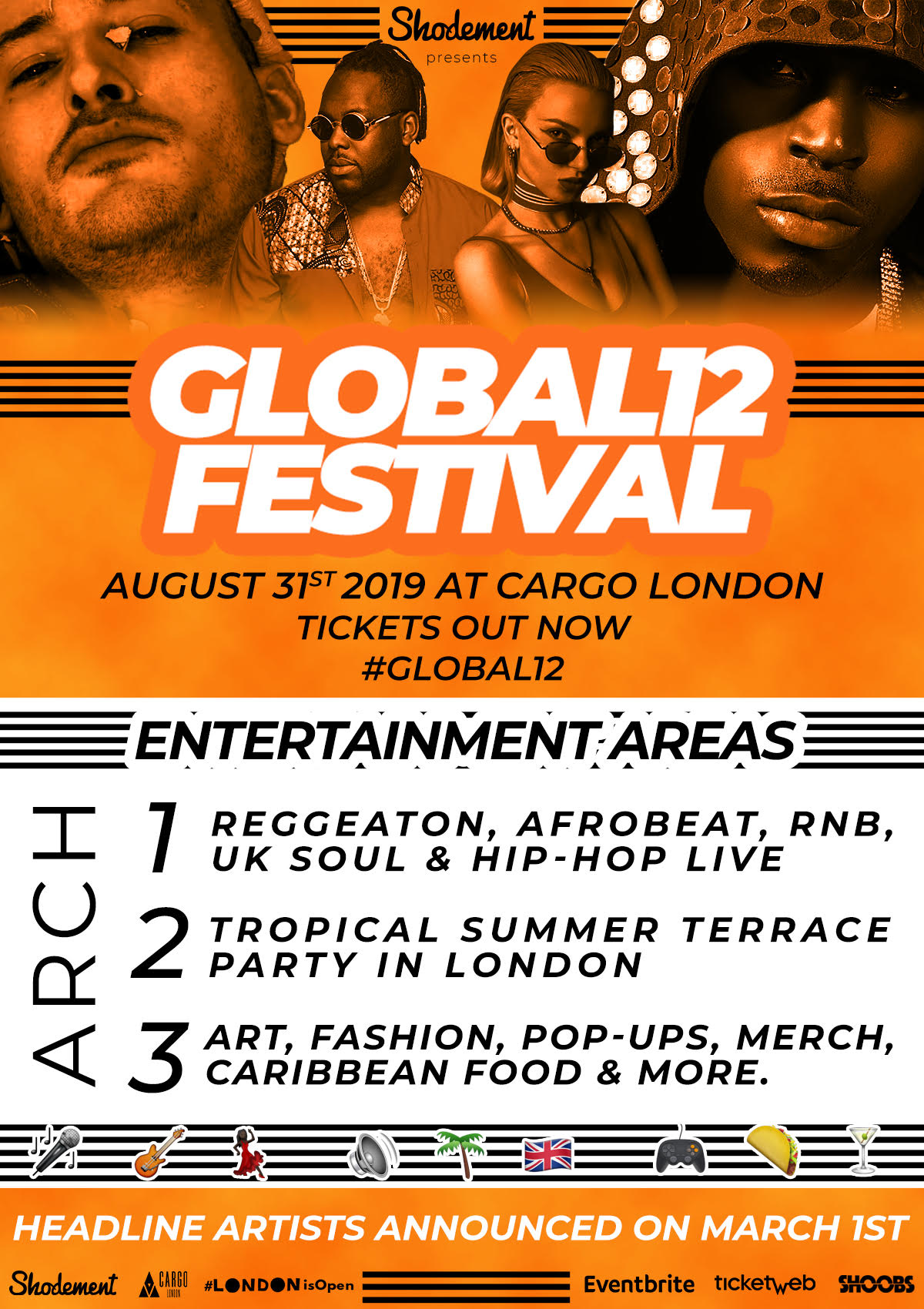 Global 12 Festival Summer 2019 Tickets Sat 31 Aug 2019 At 1200
