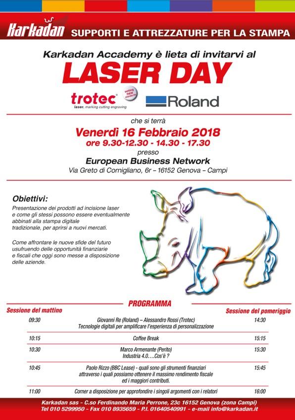 Locandina Laser Day