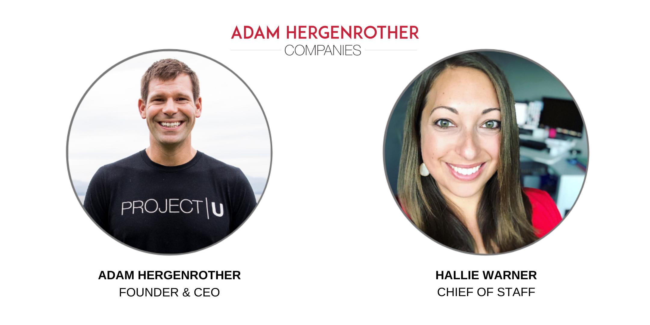 Adam Hergenrother & Hallie Warner