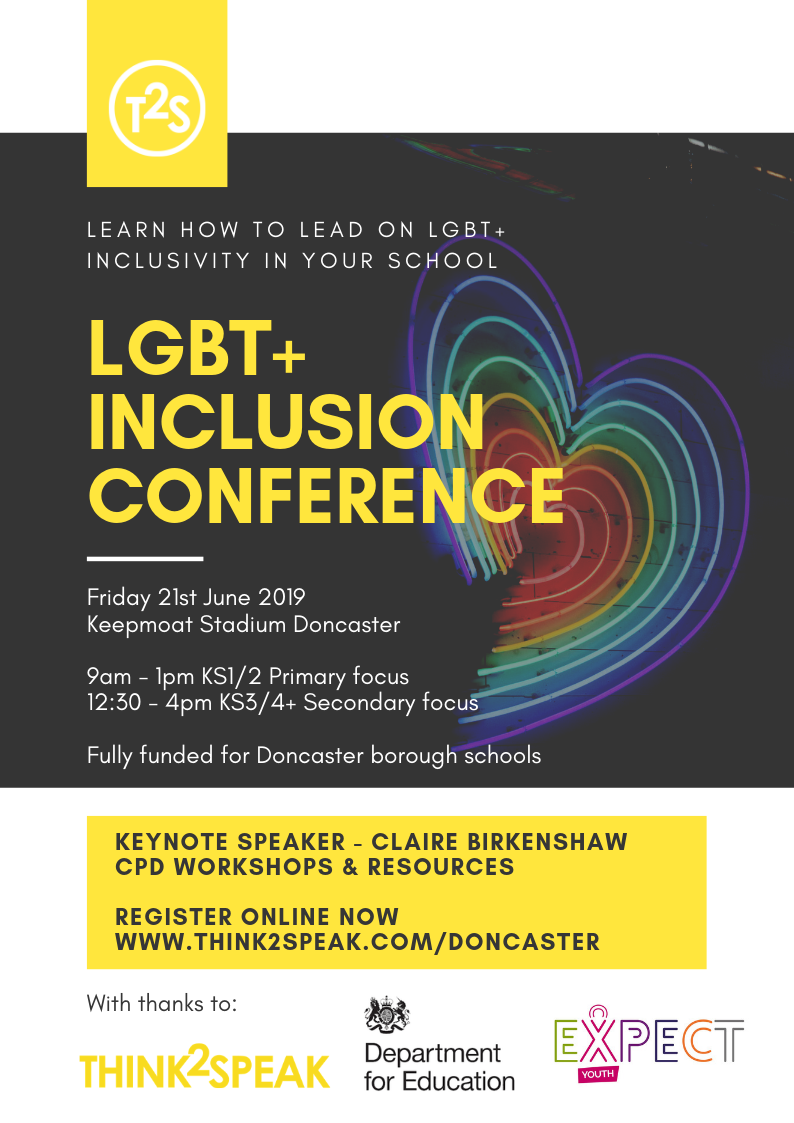 LGBT Conference event flyer - Primary