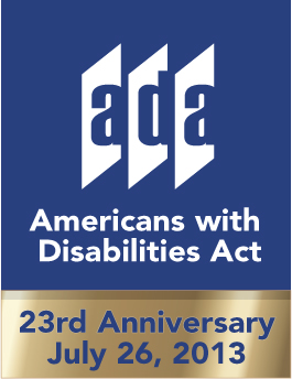ADA Anniversary 2013 Logo
