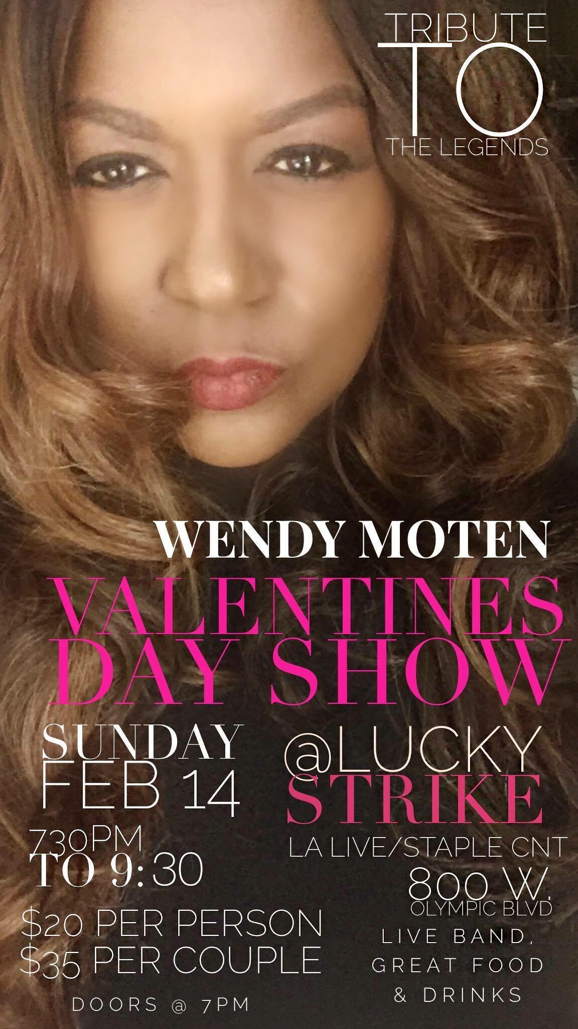 Wendy Moten Valentine's Day Show