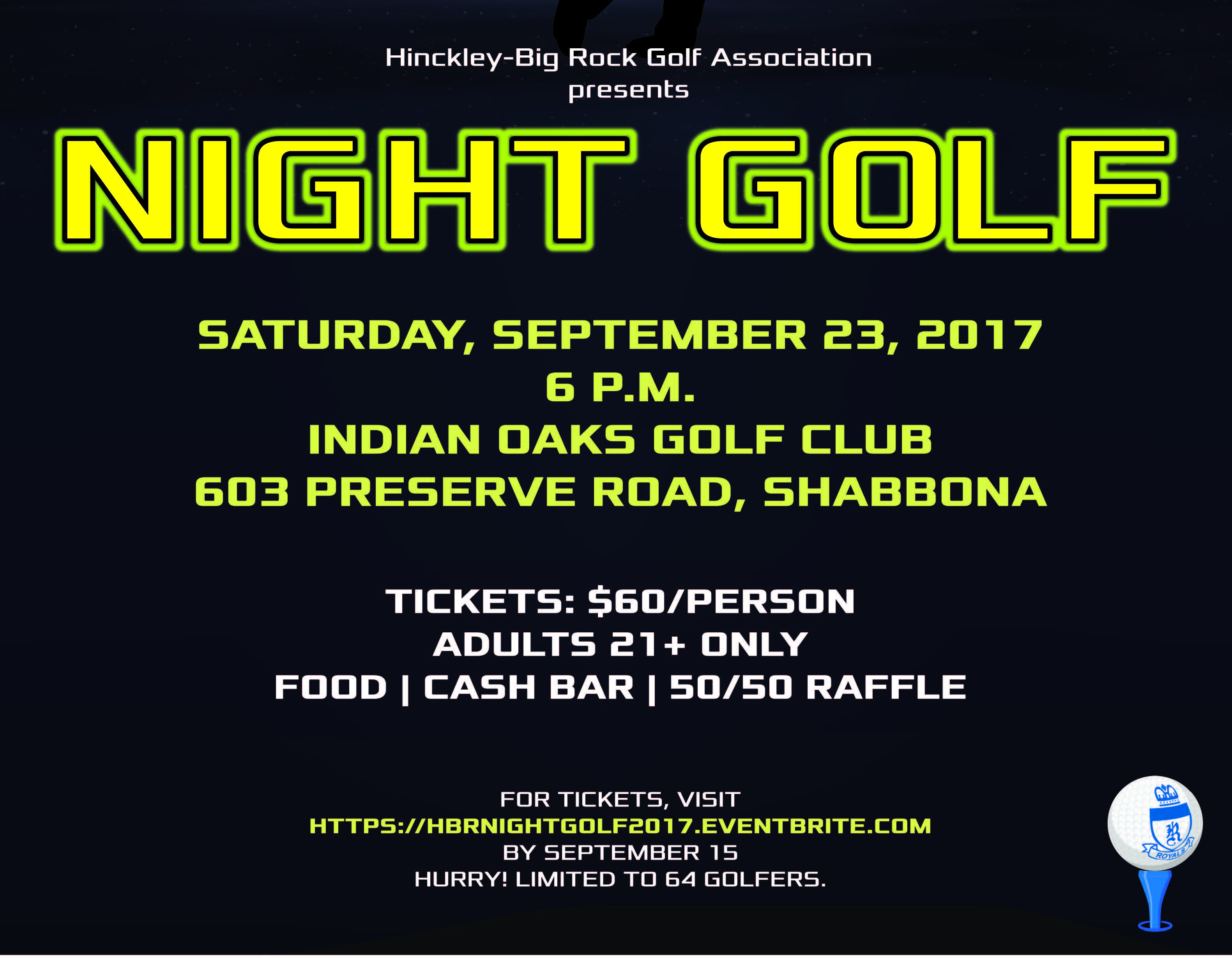 Night Golf presented by Hinckley-Big Rock Golf Association