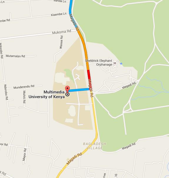 Multimedia University Map