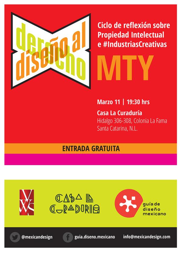 Ciclo Diseno al Derecho, #PropiedadIntelectual #IndustriasCreativas