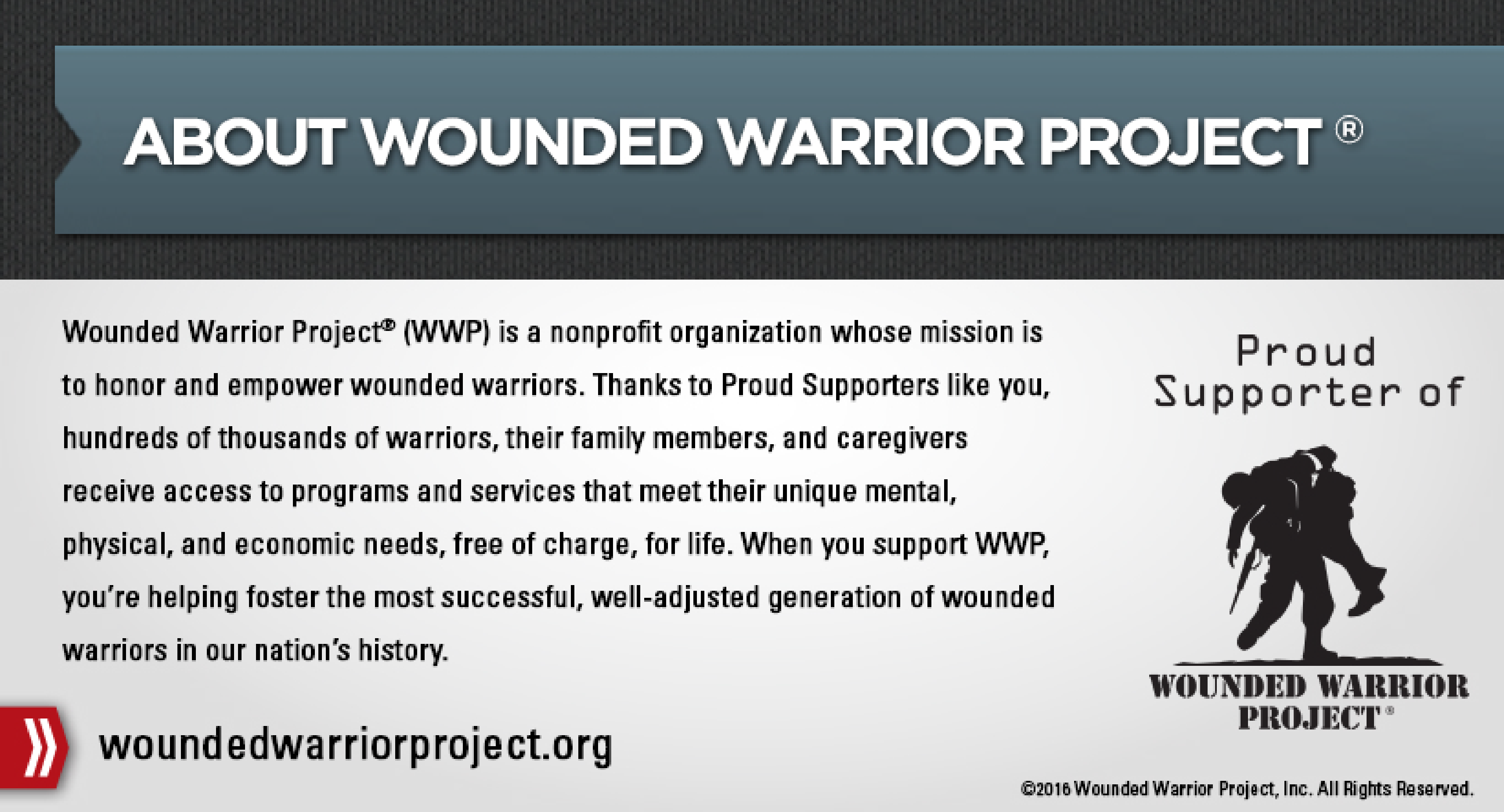 Wounded Warrior Description