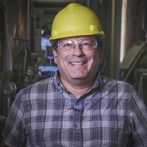 Matt Stinchfield, Safety Ambassador at Brewers Association in PPE