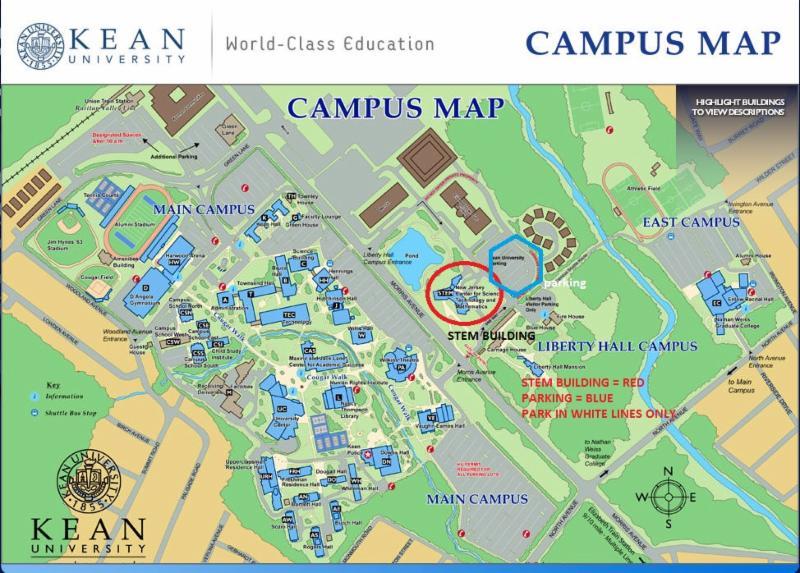 Kean University Map