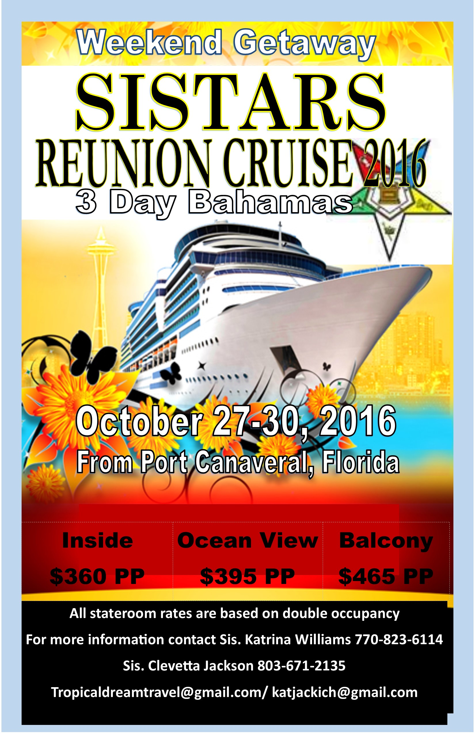 SiStars Reunion Cruise