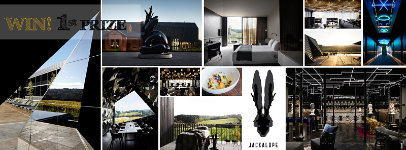 WIN with every ticket purchased to IWDMelbourneStyle - 1st prize Jackalope Hotels Escape From Reality Package valued at over $4,100