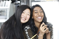 Winona and Priya