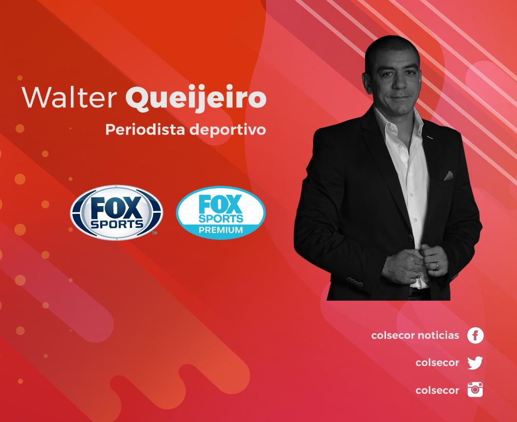 Walter Queijeiro. Periodista deportivo. FOX Sports y FOX Sports Premium