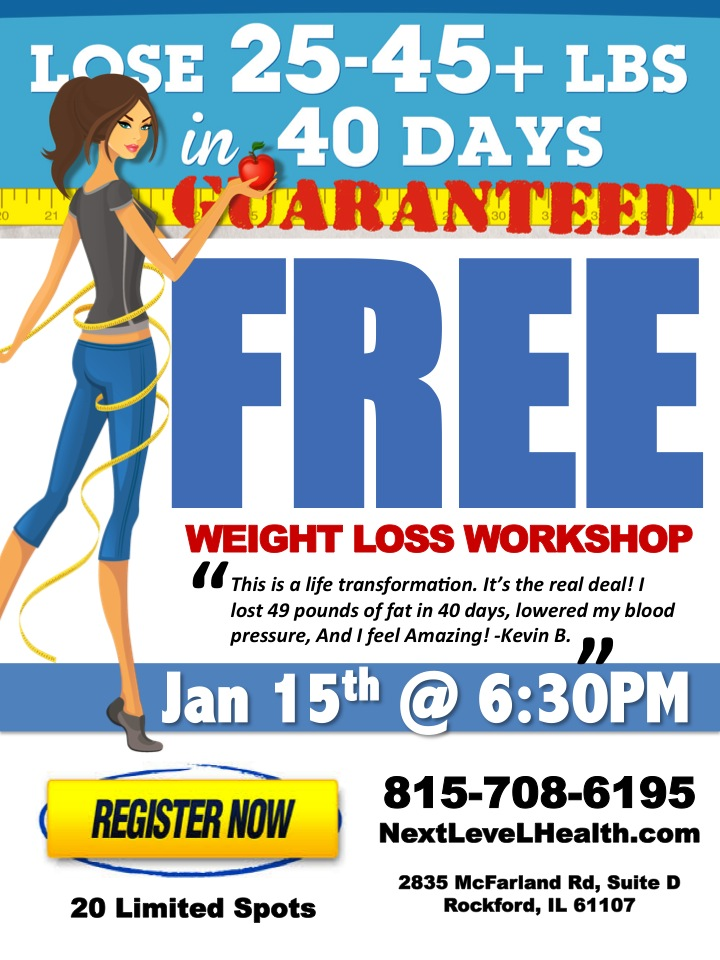 how to lose 20 45 pounds in 40 days guaranteed tickets wed jan 15 2014 at 6 30 pm eventbrite. Black Bedroom Furniture Sets. Home Design Ideas