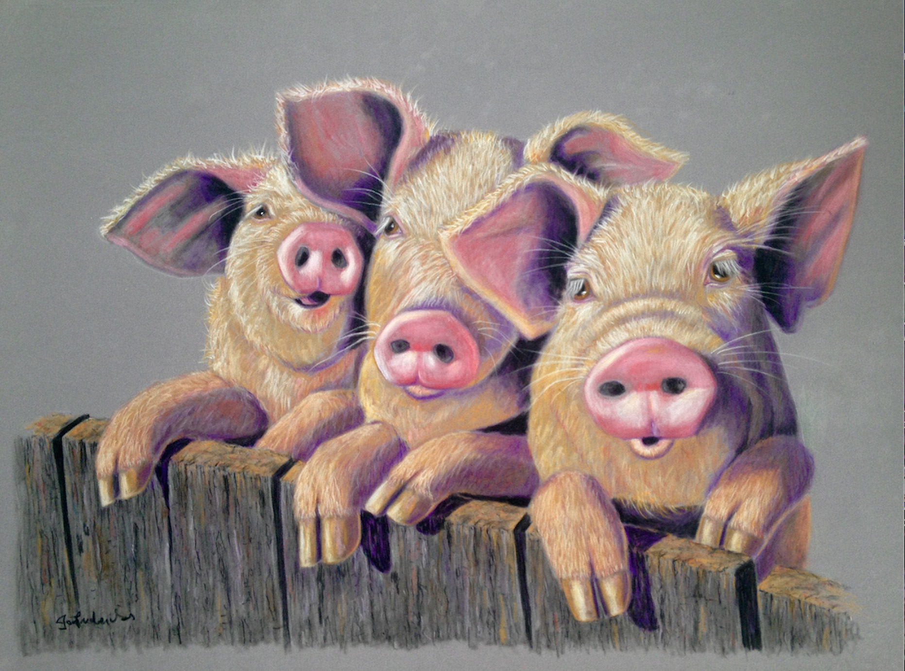 Three Little Pigs - raffle prize
