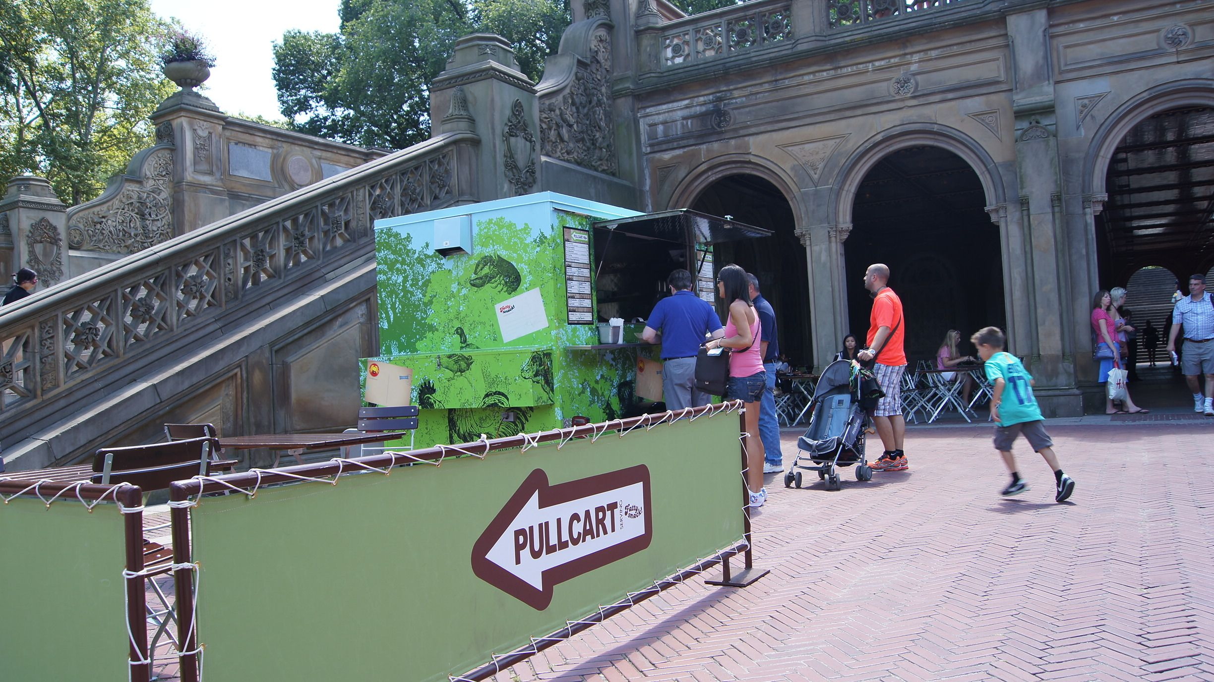 Pullcart in Central Park