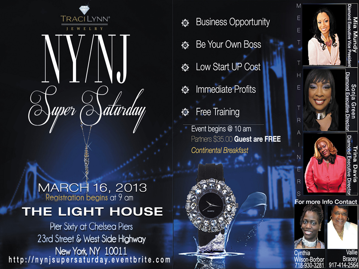 Traci Lynn Fashion Jewelry NY/NJ Super Saturday