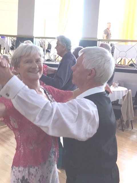 Dancers at the Tea Dance 2018