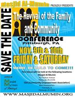 2012 THE REVIVAL OF THE FAMILY AND COMMUNITY CONFERENCE...