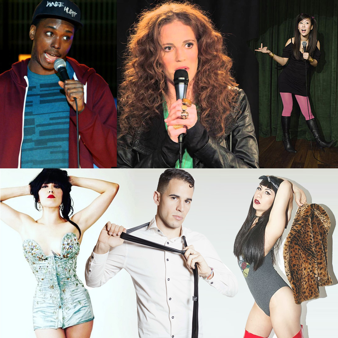 Stand-up & Burlesque line-up