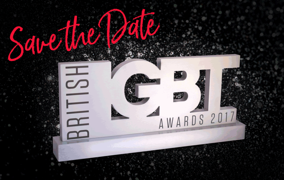 Save the Date - British LGBT Awards
