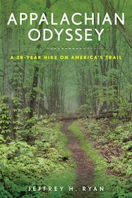 Appalachian Odyssey by Jeffrey Ryan book cover