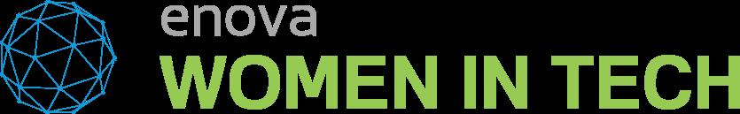 Enova wit logo