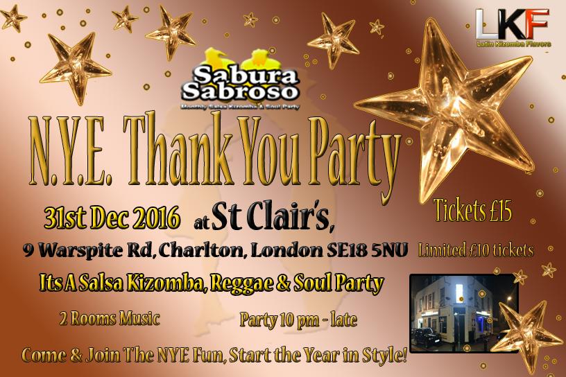 LKF Thankyou party