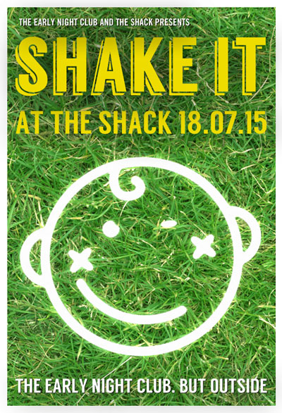 Shake It At The Shack details