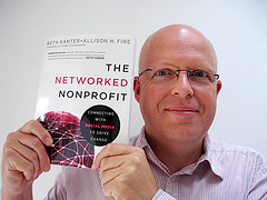 Steve with his copy of The Networked Nonprofit
