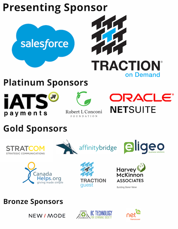 The Digital Nonprofit sponsors