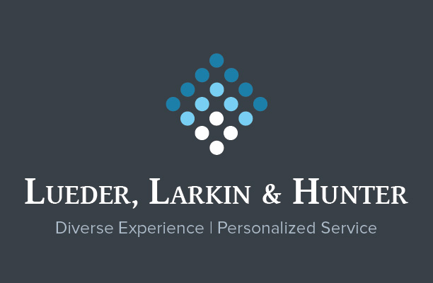 Lueder Larkin Hunter Logo